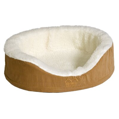 Quiet Time eSensuals Orthopedic Bolster Pet Bed Size: Medium (28 W x 23.5 D), Color: Tan