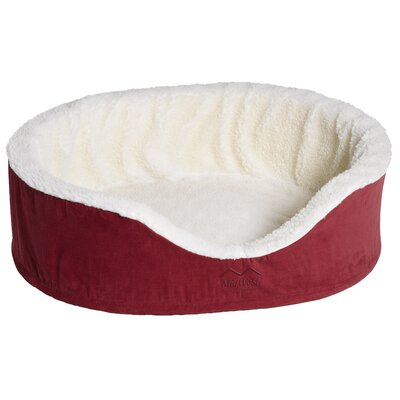 Quiet Time eSensuals Orthopedic Bolster Pet Bed Size: Small (23 W x 18 D), Color: Burgundy