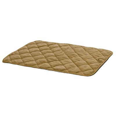 Quiet Time Deluxe Quilted Reversible Dog Mat Size: Medium (30 L x 17.5 W)