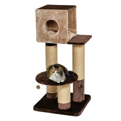 49 Feline Nuvo Grand Jubilee Multi-Level Cat Condo
