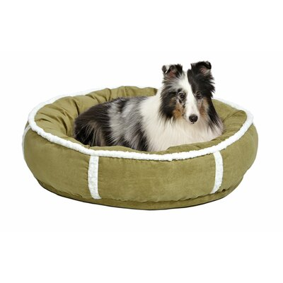 Quiet Time Deluxe Rondelle Bed Size: Large - 28 L x 28 W, Color: Green