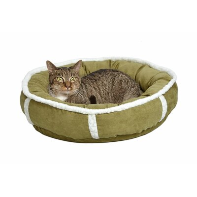 Quiet Time Deluxe Rondelle Bed Size: Small - 21 L x 21 W, Color: Green