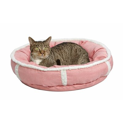 Albert Deluxe Rondelle Bed Size: Small - 21 L x 21 W, Color: Pink