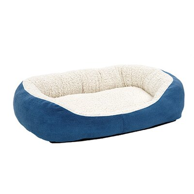 Quiet Time Boutique Cuddle Bed Size: Medium - 30.5 L x 23.5 W, Color: Blue
