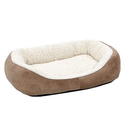 Quiet Time Boutique Cuddle Bed Size: Medium - 30.5 L x 23.5 W, Color: Taupe