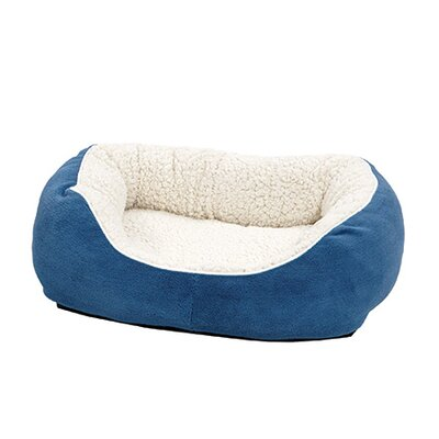 Quiet Time Boutique Cuddle Bed Color: Blue, Size: Small - 22 L x 19.5 W