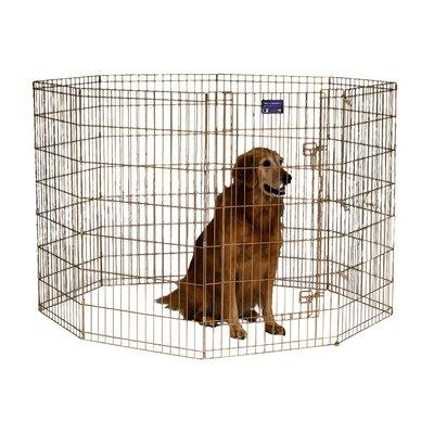 Exercise Dog Pen Size: Large (42 H x 24 W)