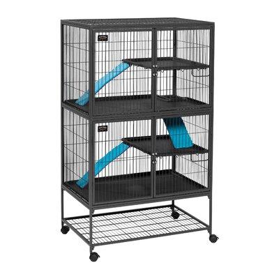 Ferret Nation Habitat Modular with Double Unit Cage
