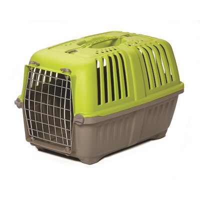 Spree� Travel Pet Carrier Size: 14.25 H x 14.25 W x 21.88 L, Color: Green