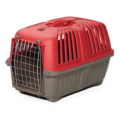 Spree� Travel Pet Carrier Size: 14.25 H x 14.25 W x 21.88 L, Color: Red