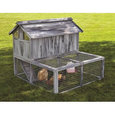 Dixon Composite Plastic/Wood Chicken Coop
