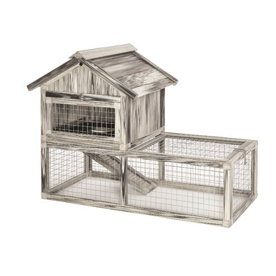 Hoppity� Habitat Composite Plastic/Wood Rabbit Hutch