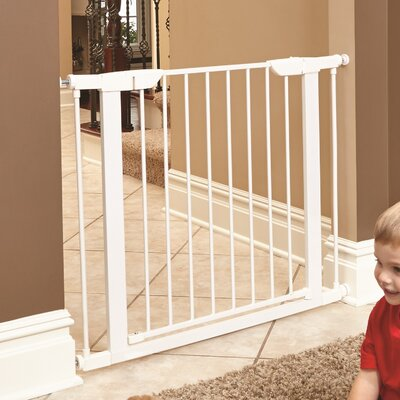 Freddy Steel Pressure Mounted Pet Gate Size: 29