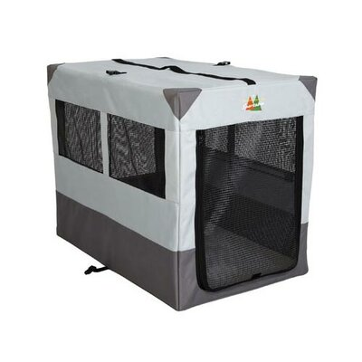 Canine Camper Sportable Pet Crate Size: Medium (24 H x 21.5 W x 31 D)