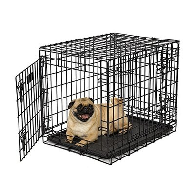 "Midwest Homes For Pets Ultima Pro Fold & Carry Triple-Door Dog Crate - Size: X-Small (24"" L x 18.5"" W x 21"" H) at Sears.com"