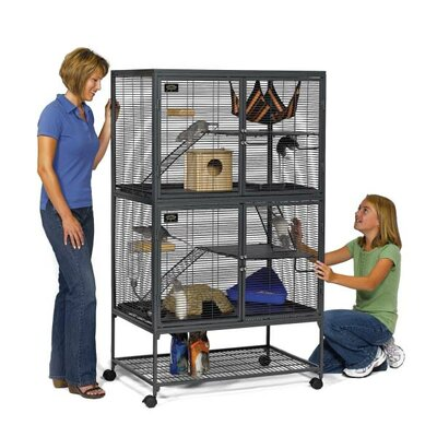 Critter Nation Single Ferret Cage Size: Medium