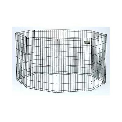 Pet Exercise Metal Yard Kennel Size: 36 W x 36 L