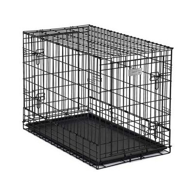 Solution Series Pet Crate Size: Small (25 H x 24  W x 37 L)