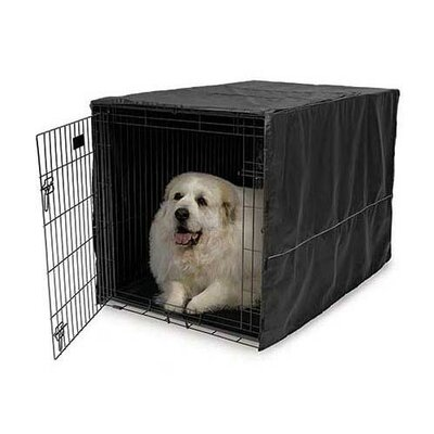Quiet Time Pet Crate Cover Size: 24 H x 23.5 W x 36 D