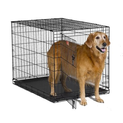 "Midwest Homes For Pets iCrate Single-Door Dog Crate - Size: Large - 42"" L x 28"" W x 30"" H at Sears.com"