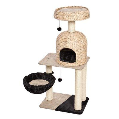 51.75 Feline Nuvo Reid Cat Tree