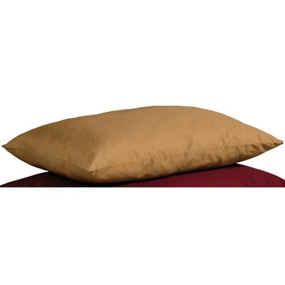 Quiet Time eSensuals Rectangle Dog Pillow Size: Medium (36 L x 27 W), Color: Tan