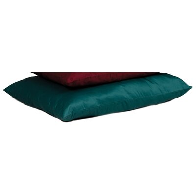 Quiet Time eSensuals Rectangle Dog Pillow Size: Medium (36 L x 27 W), Color: Hunter Green