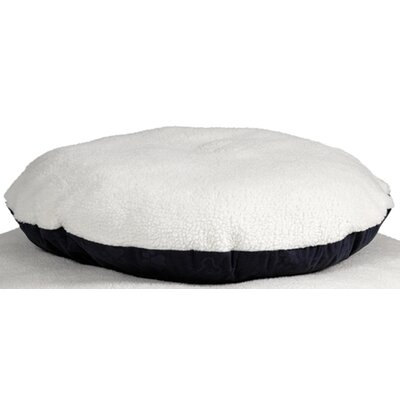 Quiet Time eSensuals Round Pet Bed Size: Large (48 W x 48 D), Color: Navy Blue
