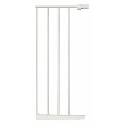 Steel Pet Gate Extension Size: 29 H x 11 W x 1 D, Finish: White