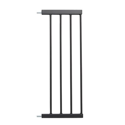 Glow Stripe Pet Gate Extension Size: 39 H x 11 W x 0.78 D, Finish: Graphite