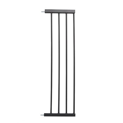 Glow Stripe Pet Gate Extension Size: 29 H x 11 W x 0.78 D, Finish: Graphite