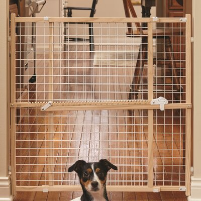 New Patented Latch Pet Gate Size: 32 H x 29 W x 2.55 D
