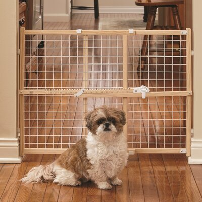 New Patented Latch Pet Gate Size: 24 H x 27 W x 2.55 D