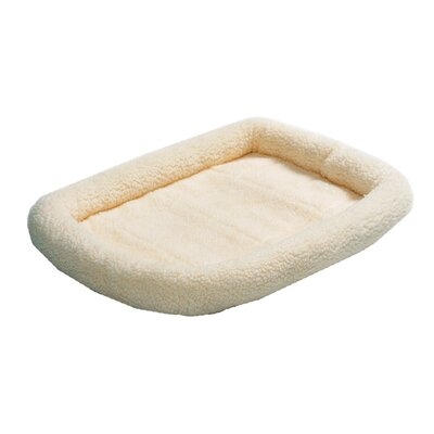Quiet Time Fleece Pet Mat Size: Large (42 L x 26 W)