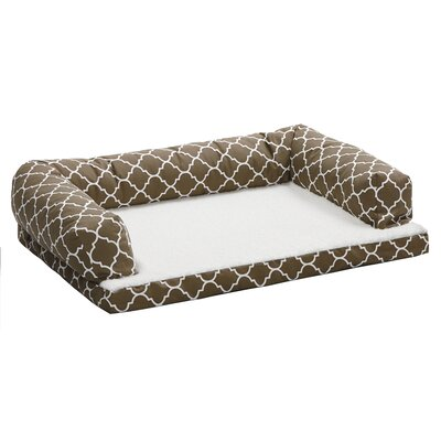Quiet Time Dog Bolster Size: 40 W x 30 D x 8.25 H