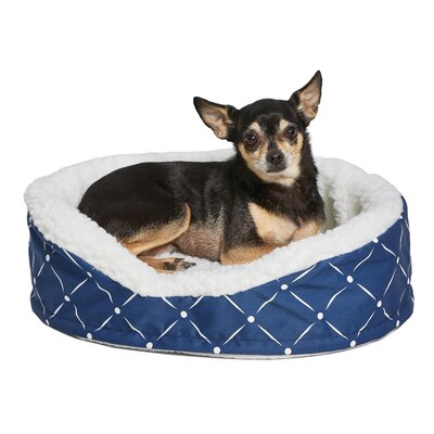 Labrador Quiet Time Bolster Color: Blue, Size: 36 W x 26.75 D x 8.75 H