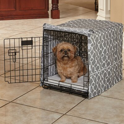 Labrador Quiet Time Crate Cover Size: 19 H x 18 W x 24 D
