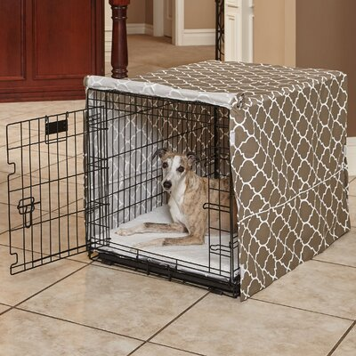 Labrador Quiet Time Crate Cover Size: 33 H x 30 W x 48 D