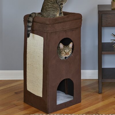 30.40 Curious Geo Pattern Cat Condo