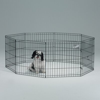 Exercise Pet Pen Size: Small (30 H x 24 W)