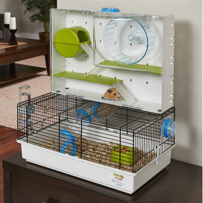 Arcade Small Animal Cage with Wheel