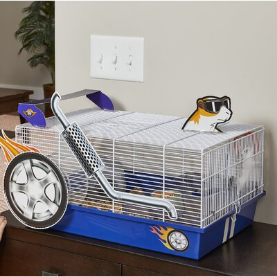 Hot Rod Hamster Cage