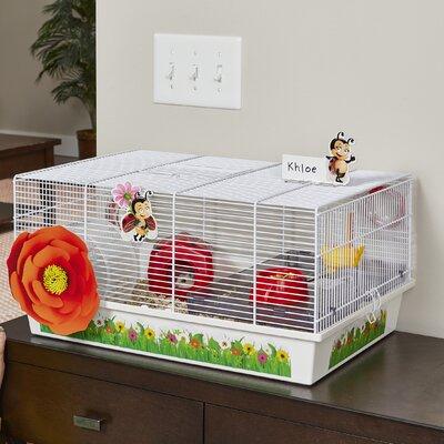 Ladybug Hamster Cage