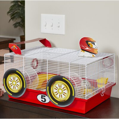 Race Car Hamster Cage