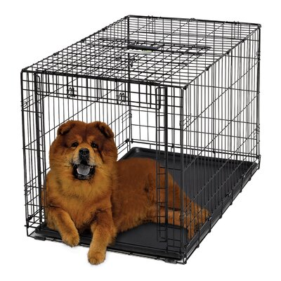 "Midwest Homes For Pets Ovation Single Door Dog Crate - Size: 48"" (49"" L x 30.5"" W x 32.25"" H) at Sears.com"