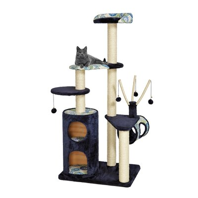 62 Feline Nuvo Playhouse Cat Tree