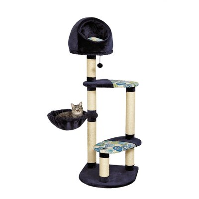60 Feline Nuvo Resort Cat Tree