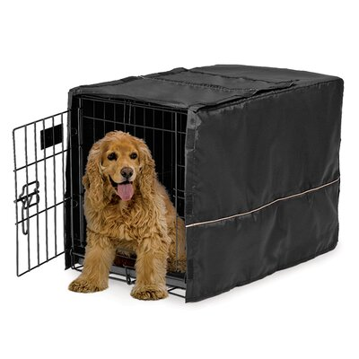 Hennings Quiet Time Dog Crate Cover Depth: 30