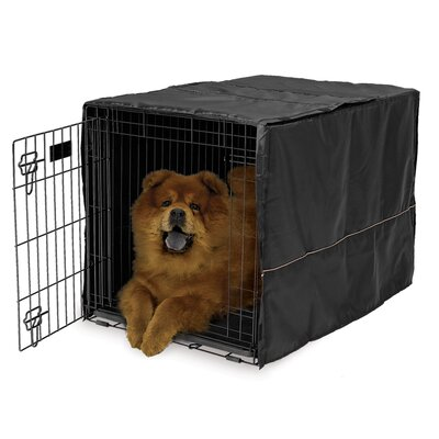 Hennings Quiet Time Dog Crate Cover Depth: 36