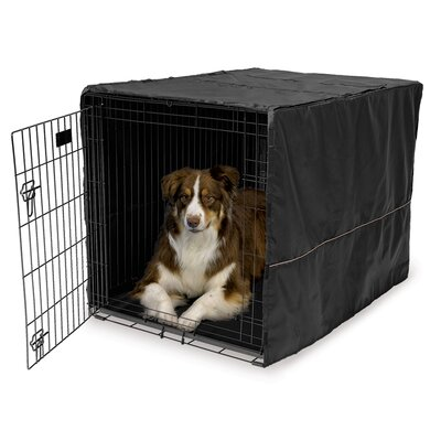 Hennings Quiet Time Dog Crate Cover Depth: 42